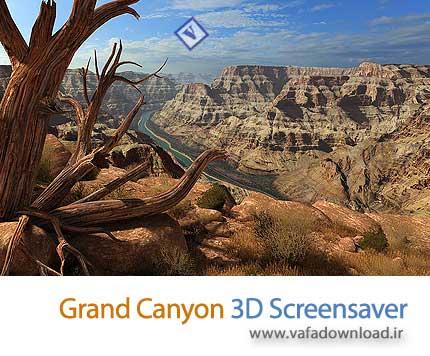 دانلود Grand Canyon 3D Screensaver v1.0.0.2 (اسکرین سیور گرند کنیون)