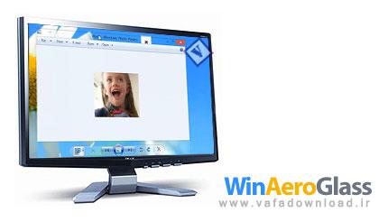 دانلود WinAeroGlass v0.0.0.1 (فعال کردن ویژگی شفافیت پنجره ها در ویندوز ۸)