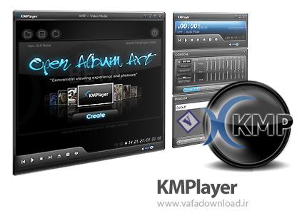 دانلود KMPlayer v3.8.0.120 (نرم افزار پخش فایل های صوتی و تصویری)