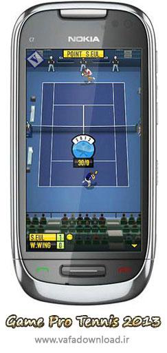 بازی جذاب تنیس (Game Pro Tennis 2013 v1.0)