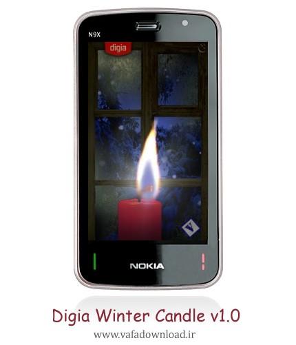 نرم افزار شبیه ساز شمع Digia Winter Candle v1.0